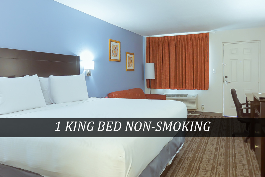1 KING BED NON-SMOKING