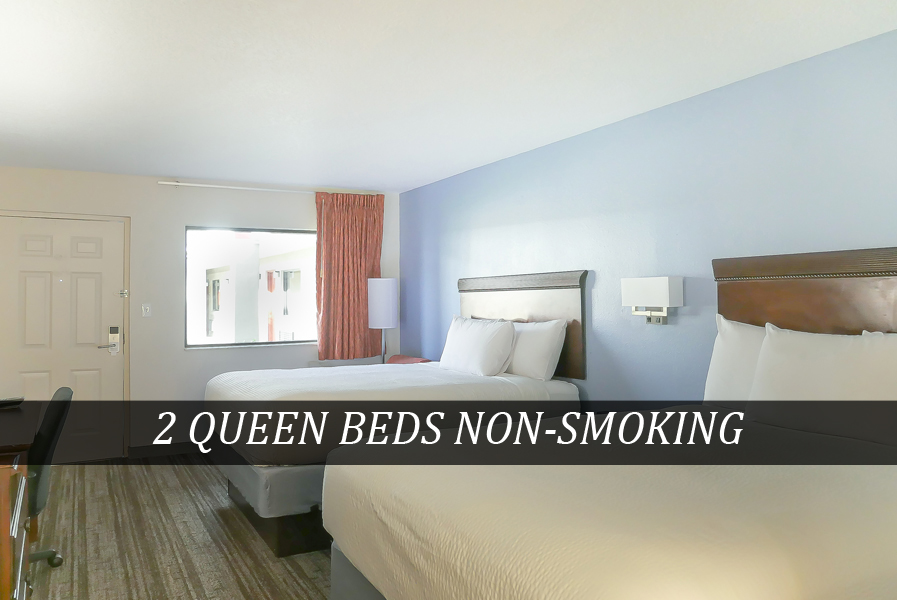 2 QUEEN BEDS NON-SMOKING